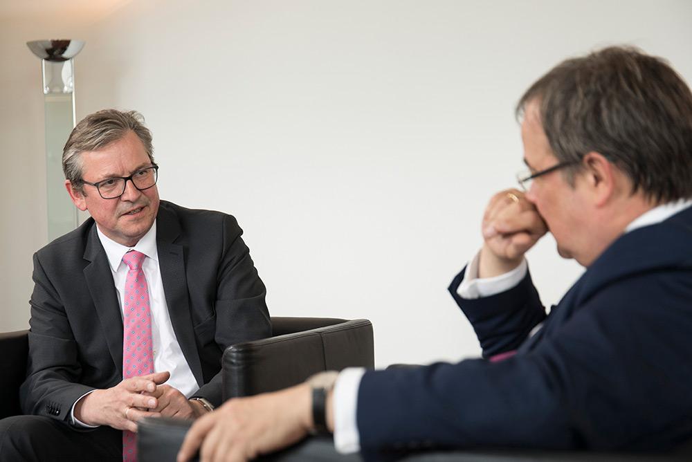 Michael Dreier trifft Armin Laschet