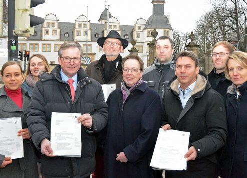 """Förderbescheid für das Pilotprojekt """"Schlosskreuzung"""""""