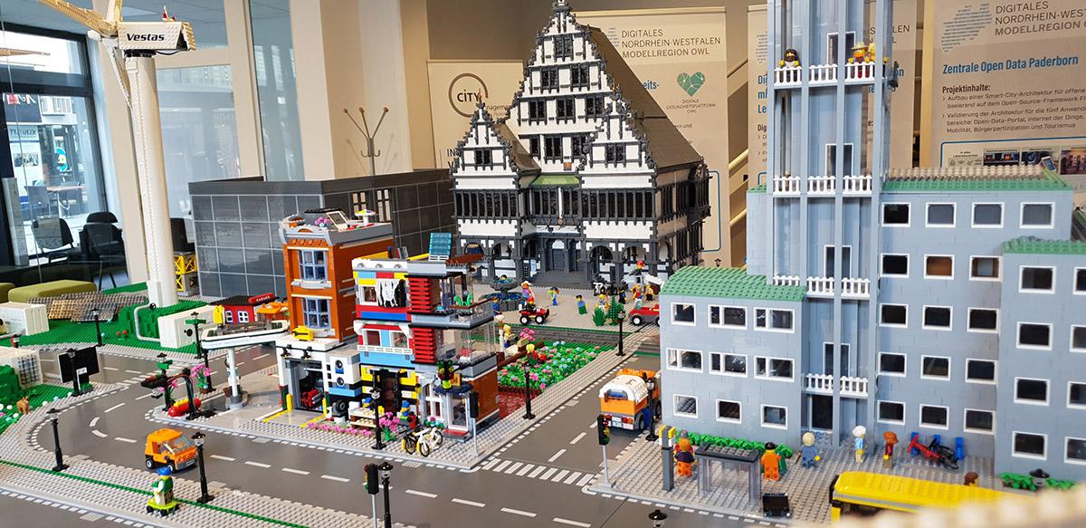 Smart City Lego Modell