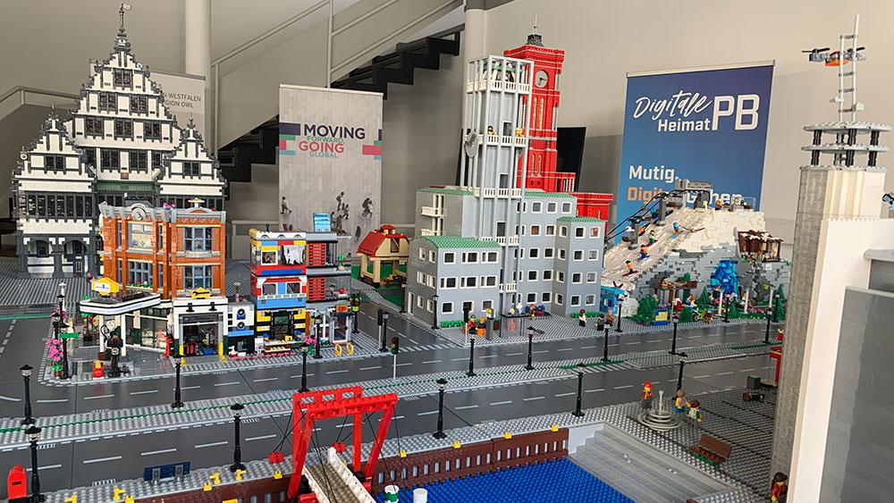 Lego-Modell-Paderborn