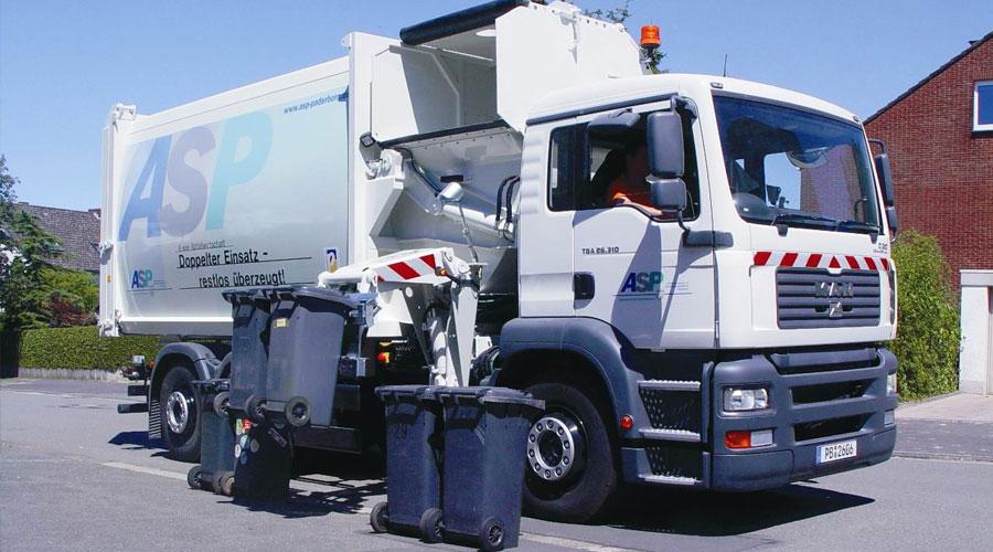 Müllabfuhr Termine für Paderborn