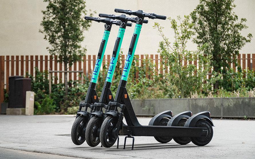 Angebot von E-Scootern wird erweitert